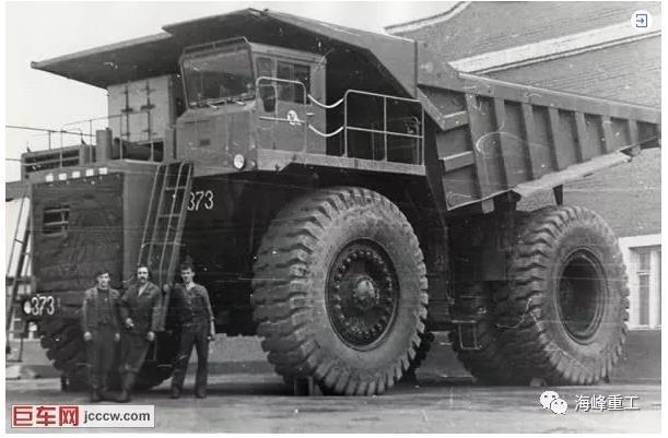 前苏联矿用重型自卸车
