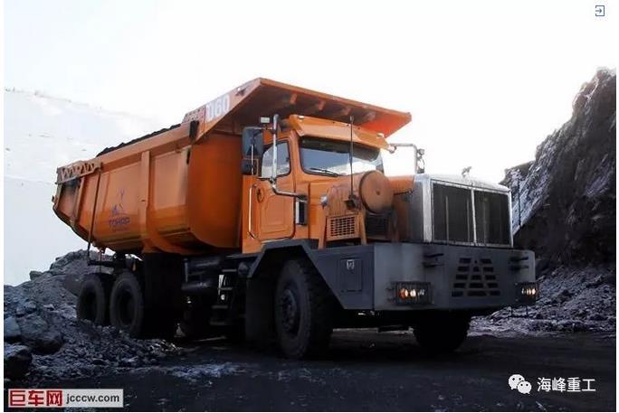 60吨TONAR-7501:俄罗斯最大非公路卡车
