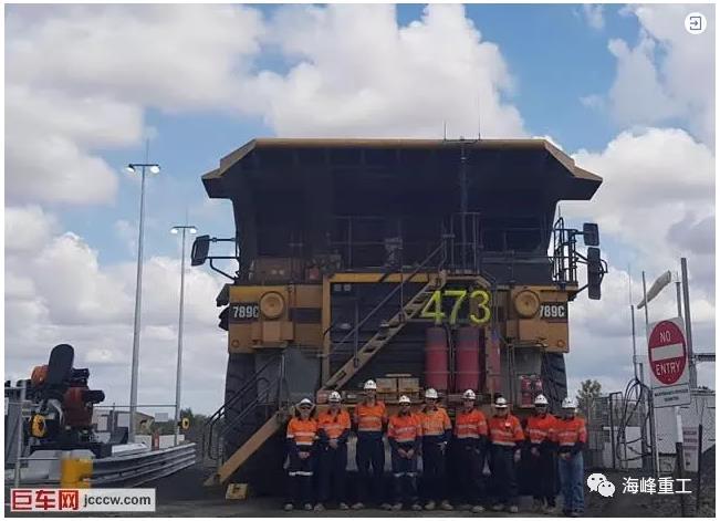 澳大利亚New Acland煤矿试验双燃料卡车
