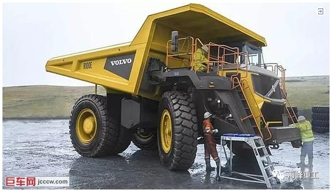 收购TEREX后的Volvo刚性自卸车